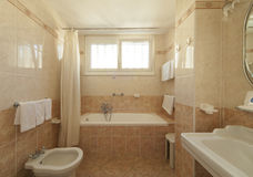 Классическая ванная комната стиля стоковые фотографии rf