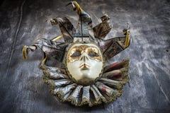 Классическая венецианская маска масленицы Стоковые Фотографии RF