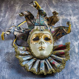 Классическая венецианская маска масленицы Стоковое Изображение RF