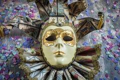 Классическая венецианская маска масленицы Стоковая Фотография RF