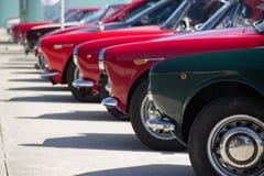 Классическая выставка автомобилей Стоковое Фото