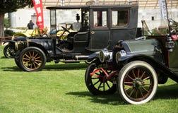 Классическая выставка автомобилей Стоковое фото RF