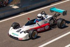 Классическая гоночная машина формулы Стоковая Фотография