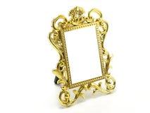 Классическая граница рамки золота Стоковые Фотографии RF