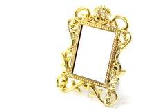 Классическая граница рамки золота Стоковые Изображения