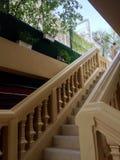 Классическая лестница стиля в университете SuanDusit Стоковое Изображение
