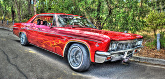 Классическая импала Chevy 1960s Стоковое фото RF