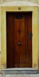 Классическая испанская дверь Стоковое фото RF