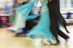 Классическая конкуренция танца, деталь Стоковые Изображения
