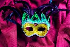 Классическая маска масленицы Стоковое Фото