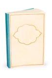 Классическая пустая обложка книги - путь клиппирования Стоковая Фотография RF