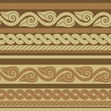 Классическая старая римская граница бесплатная иллюстрация