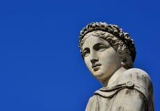 Классическая статуя богини стоковое фото rf