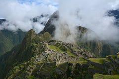 Классическая съемка Machu Picchu Стоковая Фотография