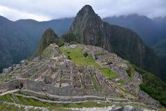 Классическая съемка Machu Picchu Стоковые Фотографии RF