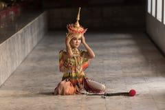 Классическая тайская настройка, Manohra стоковые изображения