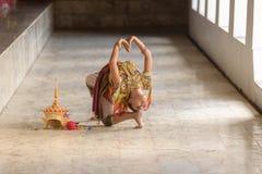Классическая тайская настройка, Manohra стоковая фотография