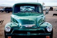 Классическая тележка Chevy Стоковое Изображение
