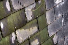 Классическая французская крыша шифера Стоковая Фотография RF