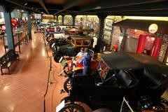 Классические автомобили в музее Koc Стоковые Фото