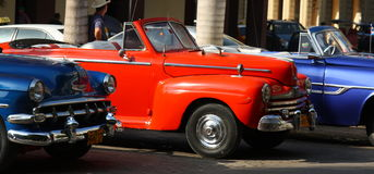 Классические автомобили, Гавана Стоковые Фотографии RF