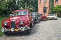 Классические автомобили Saab шведского языка Стоковая Фотография RF