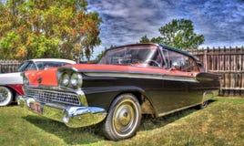 Классические американские 1950s Форд Galaxie стоковая фотография