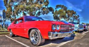 Классические американские 1970s Chevy Chevelle Стоковые Фото