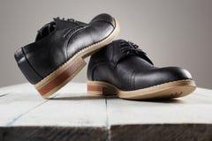 Классические ботинки ` s людей Стоковая Фотография RF