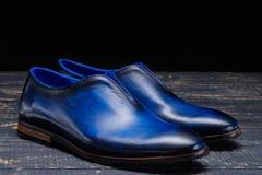 Классические ботинки ` s людей Стоковые Фото