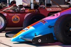 Классические гоночные машины формулы Стоковая Фотография RF