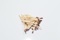 Классические деревянные спички стоковое фото rf