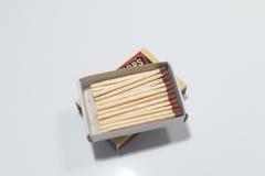 Классические деревянные спички стоковое изображение