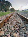 Классические железная дорога или железная дорога Стоковое Изображение RF
