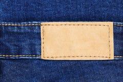 классические джинсы обозначают кожу для картины и дизайна Стоковые Изображения