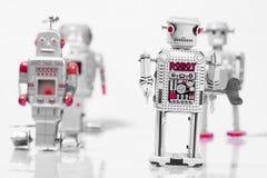 Классические игрушки робота Стоковые Изображения