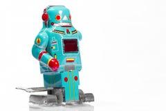 Классические игрушки робота Стоковое фото RF