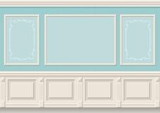 Классические панели стены Стоковое Изображение RF