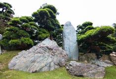 Классические сады ландшафта Стоковые Фото