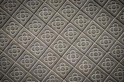 Классические тротуары плитки города Барселоны Стоковые Изображения RF