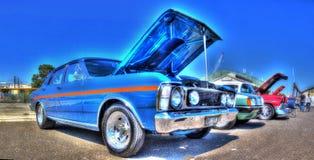 Классический австралиец Форд Fairmont XW 1960s Стоковые Изображения