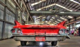Классический автомобиль с откидным верхом Кадиллака американца 1960s Стоковая Фотография