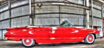 Классический автомобиль с откидным верхом Кадиллака американца 1960s Стоковое Изображение