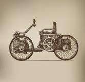 Классический автомобиль Иллюстрация штока