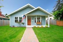 Классический американский дом Стоковое Изображение RF
