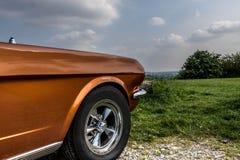 Классический взгляд автомобиля Стоковая Фотография