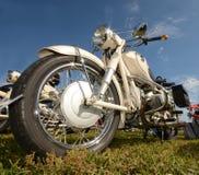 Классический взгляд крупного плана мотоцикла стоковые изображения rf