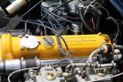 Классический двигатель автомобиля британца Стоковая Фотография RF