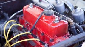 Классический двигатель автомобиля Стоковое Изображение RF