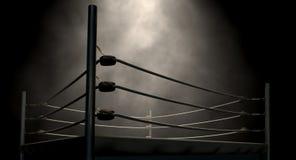 Классический винтажный боксерский ринг